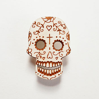 sugar-skull-brooch