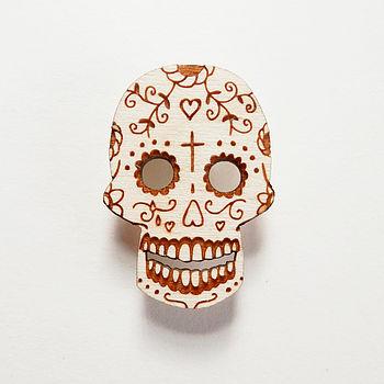 sugar-skull-brooch